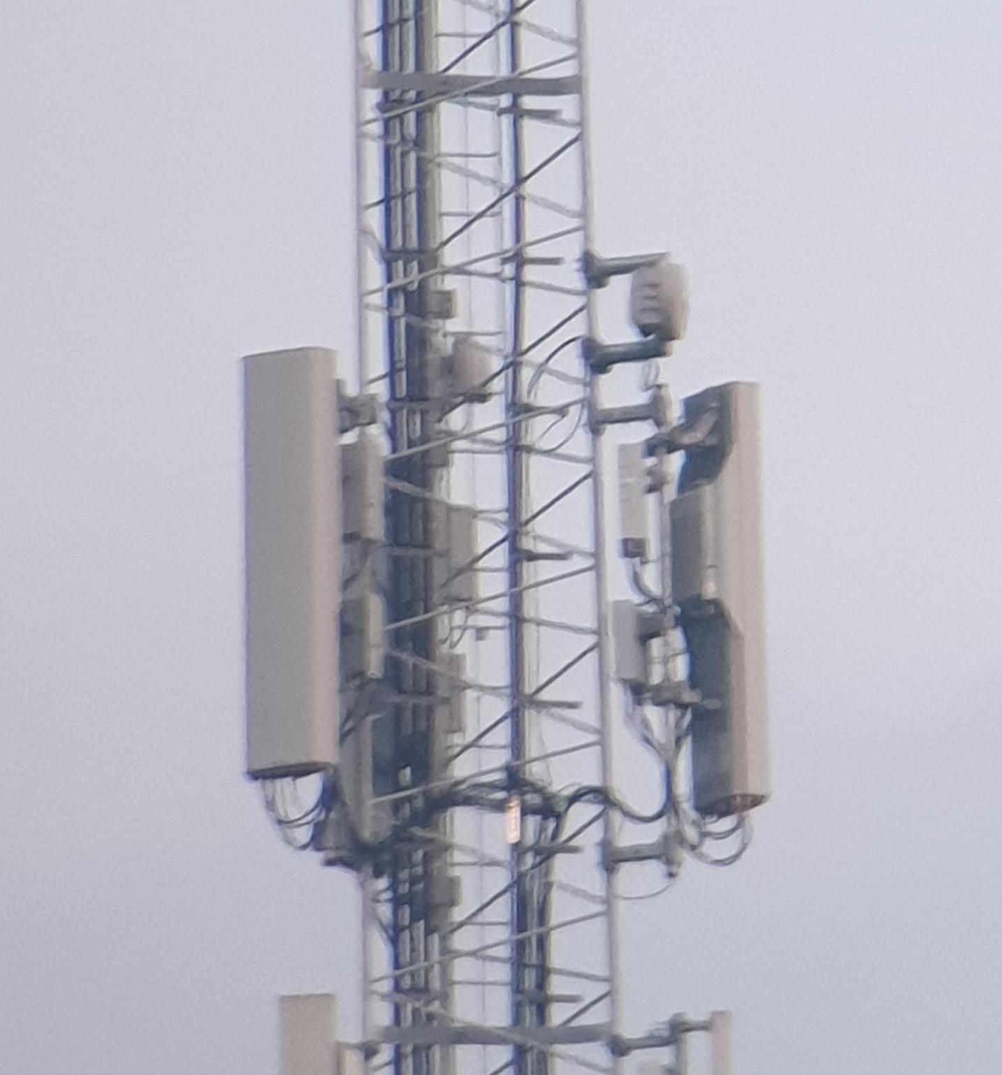 Nieuwe antennes bij het station in Zwolle